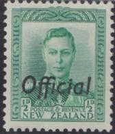 New Zealand    .     SG   .     O  134          .       *   .    Mint-hinged   .   /   .   Ongebruikt - Dienstzegels