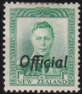 New Zealand    .     SG   .     O  137            .       *   .    Mint-hinged   .   /   .   Ongebruikt - Dienstzegels