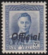 New Zealand    .     SG   .     O  140            .       *   .    Mint-hinged   .   /   .   Ongebruikt - Dienstzegels