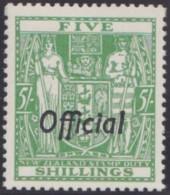 New Zealand    .     SG   .     O  133          .       *   .    Mint-hinged   .   /   .   Ongebruikt - Dienstzegels