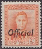 New Zealand    .     SG   .     O  152         .       *   .    Mint-hinged   .   /   .   Ongebruikt - Dienstzegels
