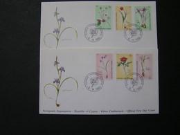 CYPRUS 1990 Cyprus Wild Flowers   FDC.. - Chypre (République)