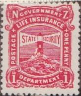 New Zealand    .     SG   .     L  33        .       *   .    Mint-hinged   .   /   .   Ongebruikt - Post-fiscaal