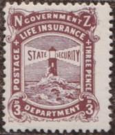 New Zealand    .     SG   .     L  35        .       *   .    Mint-hinged   .   /   .   Ongebruikt - Post-fiscaal