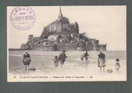 CPA (50) La Mont-Saint-Michel  -  Pêcheurs DesGrèves Et Coquetières - Le Mont Saint Michel