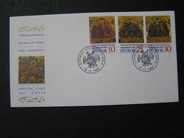 CYPRUS 1998 Christmas   FDC.. - Chypre (République)