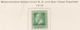 New Zealand    .     SG   .     452       .       *   .    Mint-hinged   .   /   .   Ongebruikt - 1907-1947 Dominion