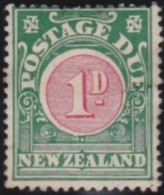 New Zealand    .     SG   .     D  19            .       (*)   .    No Gum   .   /   .   Geen  Gom - Strafport