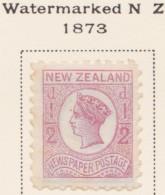 New Zealand    .     SG   .     143         .       (*)   .    No Gum   .   /   .   Geen  Gom - 1855-1907 Kolonie Van De Kroon