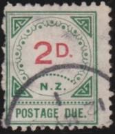 New Zealand    .     SG   .    D  11        .     O     .    Cancelled   .   /   .   Gebruikt - Strafport