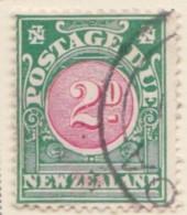 New Zealand    .     SG   .    D 35       .     O     .    Cancelled   .   /   .   Gebruikt - Strafport