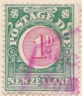 New Zealand    .     SG   .    D  19       .     O     .    Cancelled   .   /   .   Gebruikt - Strafport
