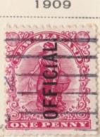 New Zealand    .     SG   .    O  70        .     O         .       Cancelled   .   /   .   Gebruikt - Dienstzegels