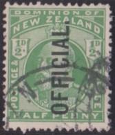 New Zealand    .     SG   .    O  73       .     O         .       Cancelled   .   /   .   Gebruikt - Dienstzegels