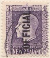 New Zealand    .     SG   .    O  101         .         O         .       Cancelled   .   /   .   Gebruikt - Dienstzegels