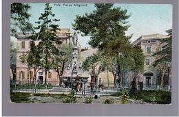CROATIA Pola Piazza Allighieri Ca 1920 OLD POSTCARD 2 Scans - Croazia