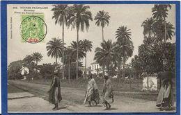 CPA Guinée Type Ethnic Afrique Noire Timbré Non Circulé - Guinée Française