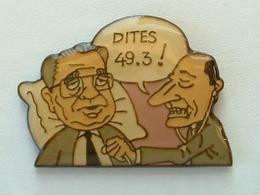 PIN'S CHIRAC / BALADUR : DITES 49.3 ! - POLITIQUE - Celebrities
