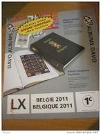 SUPPLEMENT DAVO BELGIQUE 2011 LX 1c . - Albums & Reliures