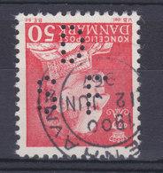 Denmark Perfin Perforé Lochung (D73) 'D S F' Dansk Sojakagefabrik A/S, København Fr. IX. Stamp (2 Scans) - Abarten Und Kuriositäten