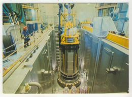 76 - Paluel       Centrale Nucléaire      4 - Mise En Place Du Couvercle De La Cuve Du Réacteur - France