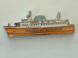 PIN'S BATEAU - TOWNSEND THORESEN - Boats