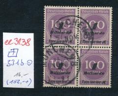D.-Reich 4x 331b   O... ( Ee3138  ) Siehe Scan ! - Deutschland