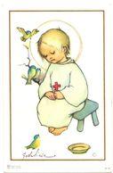 Devotie - Devotion - Communie Communion - Hedwige Beirnaert  - Zomergem 1957 - Communion