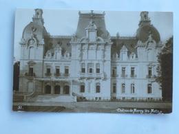 C.P.A. 57 Château De MERCY LES METZ - France