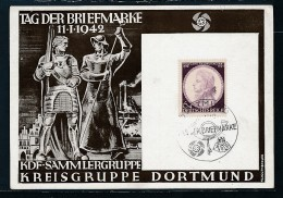 D.-Reich Propaganda Karte -  Sammler Beleg   ( Oo4278) Siehe Scan ! - Allemagne