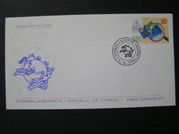 CYPRUS 1998 World Stamp Dey  FDC.. - Chypre (République)