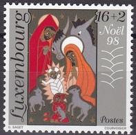 1998, Luxemburg, 1464, Weihnachten. MNH ** - Luxembourg