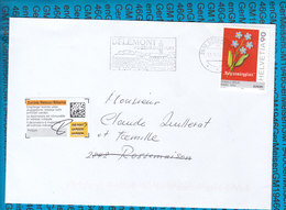 Switserland -  Zuruck Cover / 2800 Delemont - Entiers Postaux