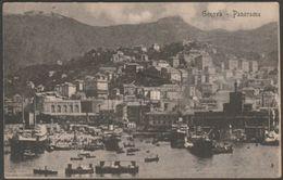 Panorama, Genova, Liguria, 1912 - Cartolina - Genova (Genoa)