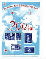 VOEUX DE LA POSTE 2001 - Documenten Van De Post
