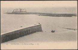 Le Port Et La Plage, Le Portel, Pas-de-Calais, 1904 - Lévy CPA LL107 - Le Portel