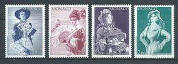 MONACO 1994 . Série N°s 1919 à 1922 . Neufs **  (MNH) - Monaco