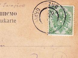 Carte Postale Sarájevo Mostar 1903 Zug Gravosa Ragusa Мостар Босна и Херцеговина Bosna I Hercegovina - 1850-1918 Empire
