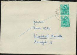 1959 1961 DDR Michel Nr. 704 X2 Auf Brief Nach Düsseldorf, Yvert 434 - DDR