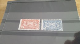 LOT 409483 TIMBRE DE FRANCE NEUF** LUXE N°244/245 - France