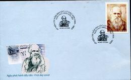36615 Vietnam, Fdc 2009,  Charles Darwin, Origin Of Species - Celebridades