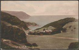 Lee Abbey And Bay, Lynton, Devon, 1923 - Frith's Postcard - Lynmouth & Lynton