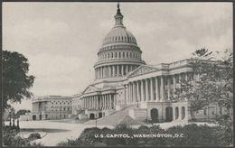 U.S. Capitol, Washington DC, C.1930s - Process Photo Studios Postcard - Washington DC