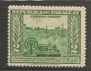 PARAGUAY - 1946 TELEGRAPH - Air Mail MINT LH STAMP - Paraguay
