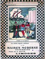 La MAISON MODERNE  Vêtements  Place De La Motte Limoges 87  L'huitre Et Les Plaideurs - Book Covers