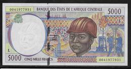 Gabon - 5000 Francs - Pick N°404L - SPL - Tchad