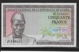 Guinée - 50 Francs - 1960 - Pick N°12 - TTB - Guinée