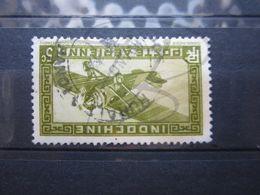 "VEND BEAU TIMBRE DE POSTE AERIENNE D ' INDOCHINE N° 3 , CACHET "" HANOI "" !!! - Indochina (1889-1945)"