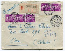 MARNE De SAINT MARTIN D ABLOIS     Env. Recom. De  1950  Avec Dateur  A 6 - Marcophilie (Lettres)