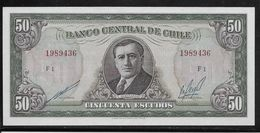 Chili - 50 Escudos - Pick N°140 - SPL - Chile